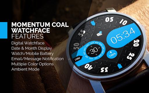 Momentum Coal Watch Face