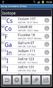 Radioactive Decay Calc (Free)- screenshot thumbnail