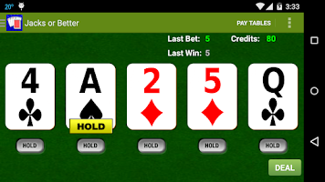 Screenshot of Awesome Video Poker!