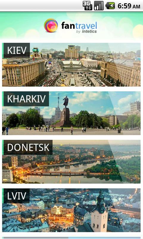 FanTravel Ukraine Euro2012- screenshot