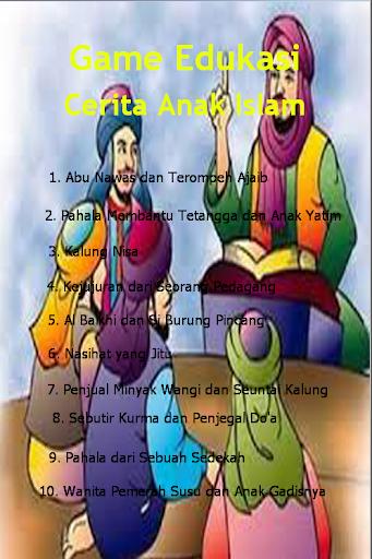 Cerita Edukasi Anak Islami