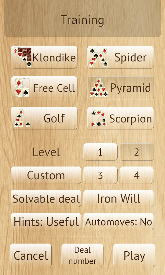 Artifice of Solitaire- screenshot