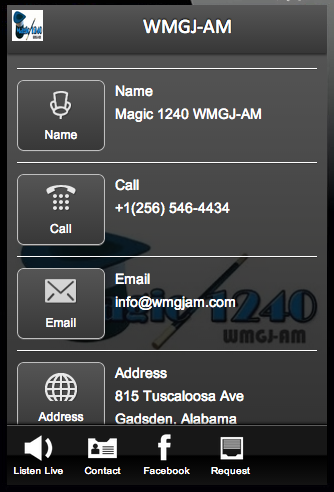 WMGJ-AM- screenshot