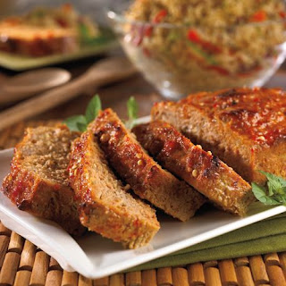 Sweet and Spicy Meatloaf.
