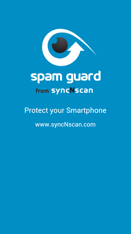 Spam Guard from syncNscan - screenshot