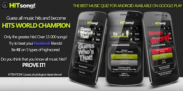 HIT Song: Music Quiz Challenge- screenshot thumbnail