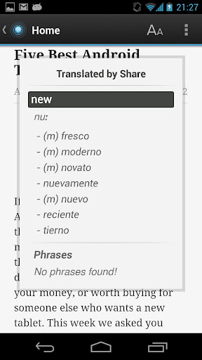 Dictionary Spanish English