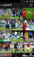 Screenshot of Euro 2012 foot