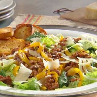 Sausage and Pepper Salad