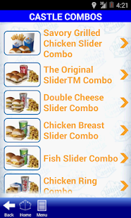 White Castle Ordering- screenshot thumbnail