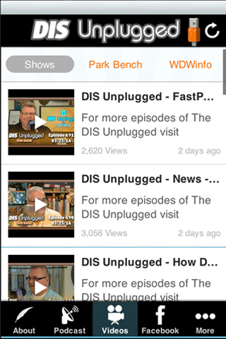 DIS Unplugged- screenshot
