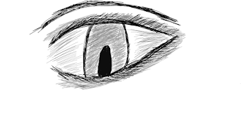 Tablet drawing: Eye