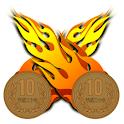 10円サッカー logo