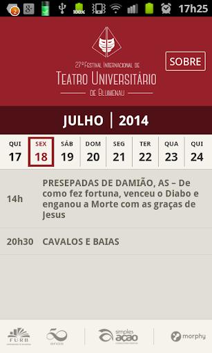FITUB 2014 Festival de Teatro