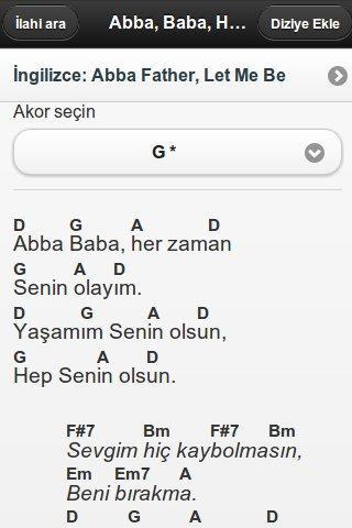 Worship Leader Turkish