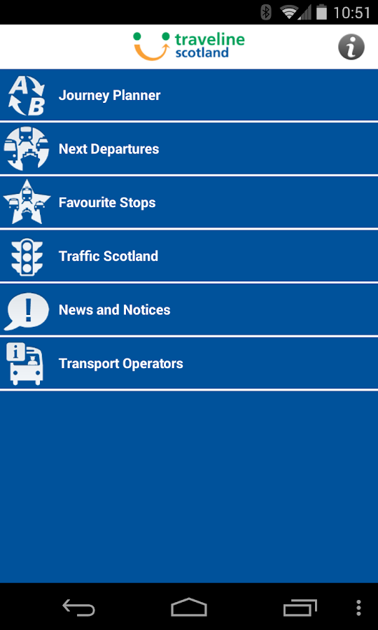 Traveline Scotland - screenshot