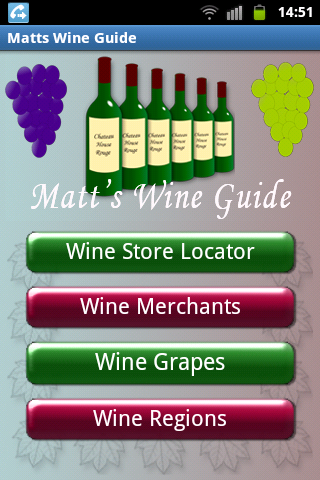 Matts Wine Guide
