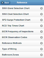 Screenshot of Electrical Tools & Reference