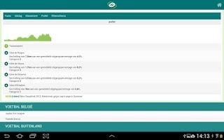 Screenshot of Sporza