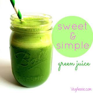 Sweet & Simple Green Juice.