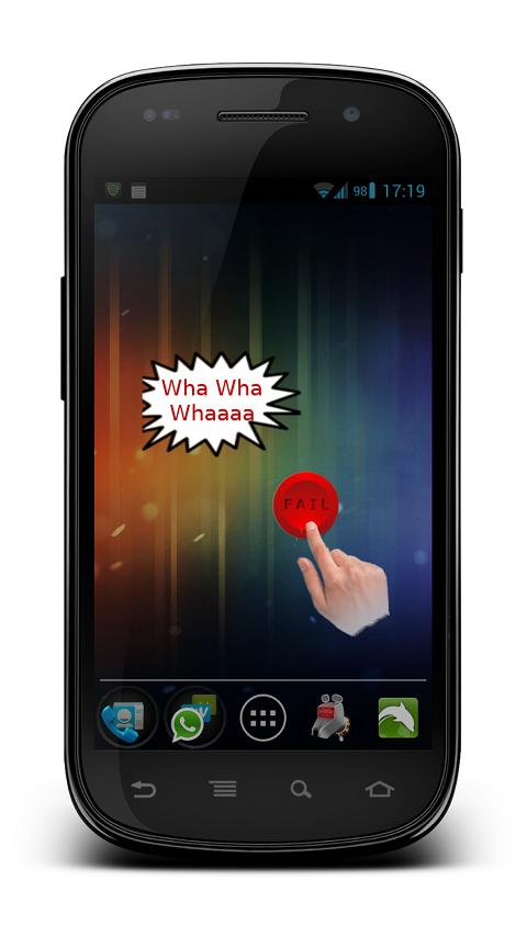 FAIL Button ★ PRO Widget- screenshot