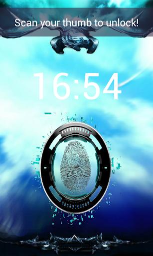 Fingerprint Locker GPS Free