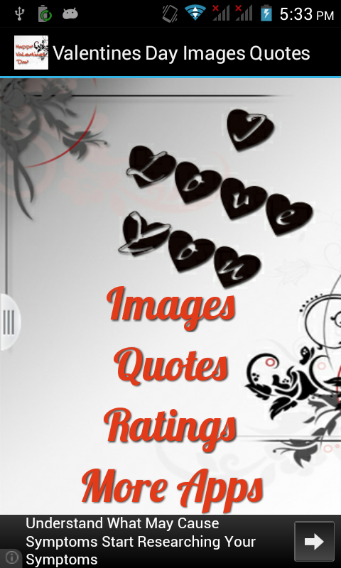 Valentine Day Images Quotes - screenshot