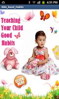 Screenshot of Kids Good Habits