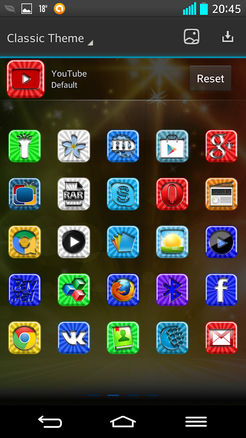 NEXT LAUNCHER 3D CLASSIC THEME- screenshot