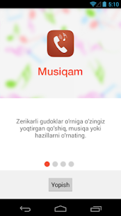 Musiqam- screenshot thumbnail