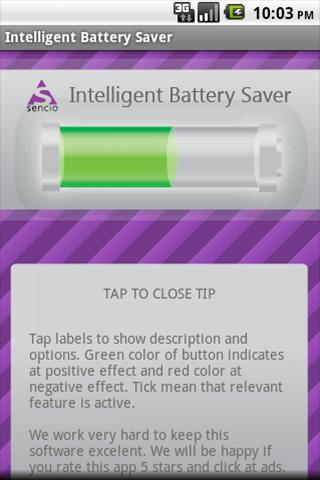 Intelligent Battery Saver - screenshot