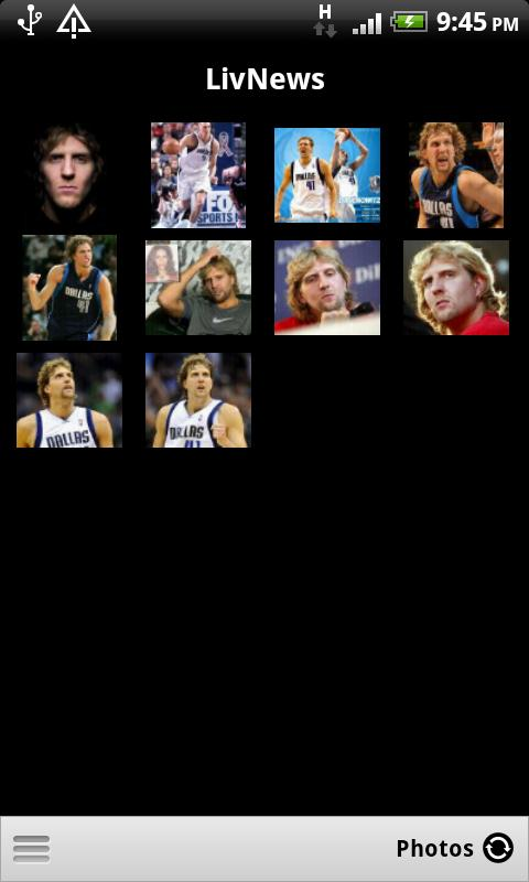 LivNews: Dirk Nowitzki - screenshot