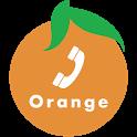 Orange Dialer icon