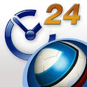 Livesports24 3D Football logo