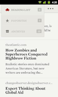 Readability - screenshot thumbnail