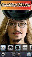 Screenshot of MustacheBooth 3D