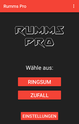 Rumms Pro - Das Partyspiel