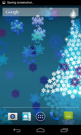 Colorful Snowflakes LWP