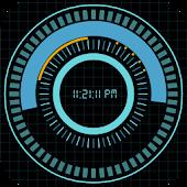 Animated Digital Clock