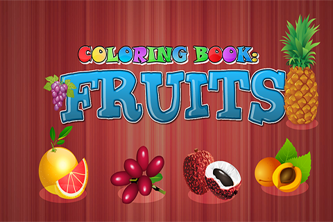 Coloring Book Fruits