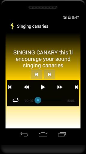 Free Singing canaries