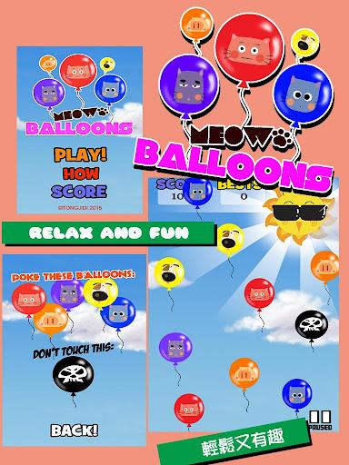 Meow Balloons