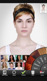 Celebrity Hairstyle Salon Screenshot
