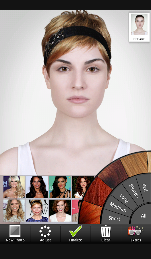 Celebrity Hairstyle Salon- screenshot