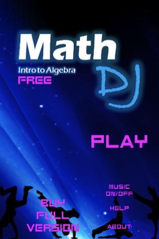 Math DJ: Intro to Algebra Free