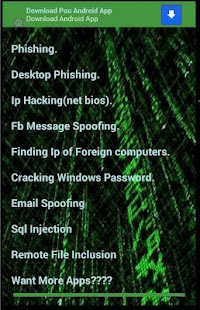 Hacking Course a pocket guide - screenshot thumbnail