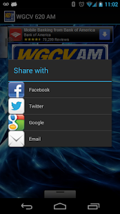 WGCV 620 AM - screenshot thumbnail