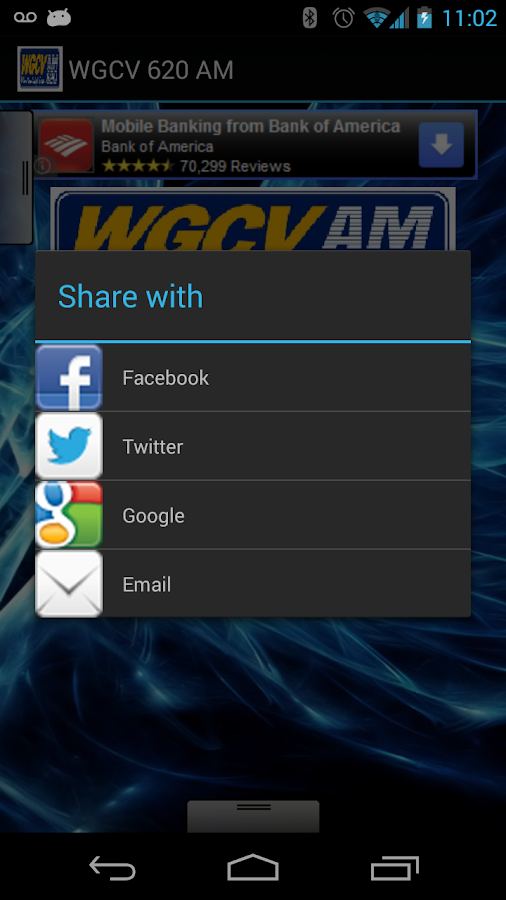 WGCV 620 AM - screenshot
