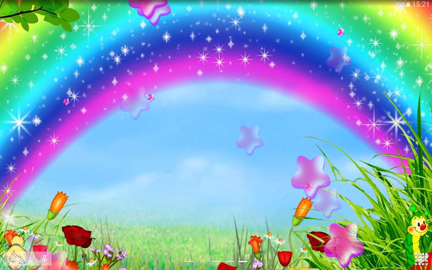 Cute Rainbow Live Wallpaper Android Apps on Google Play