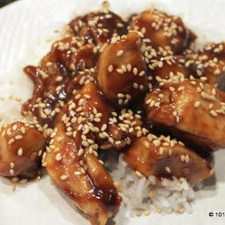 Easy General Tso Chicken.